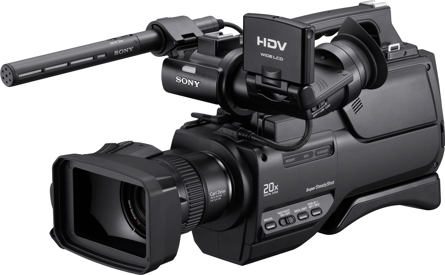 sony hvr hd1000e digital hd video camera mcdonald computers ltd. Black Bedroom Furniture Sets. Home Design Ideas